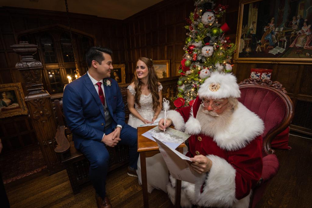 Santa Prepares Paperwork